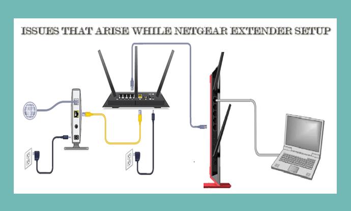 Netgear Extender Setup issues