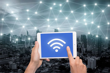 how to set up wifi through Extender