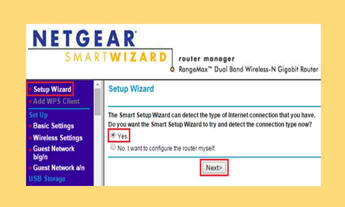Netgear Extender Setup Wizard Login Asking For Username And Password
