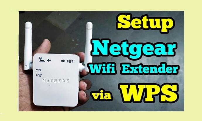 Netgear Extender Setup with WPS