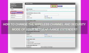 netgear wireless channel security