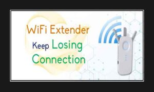 wifi extender keep losing connection
