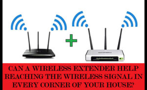 wireless extender for expanding internet signals
