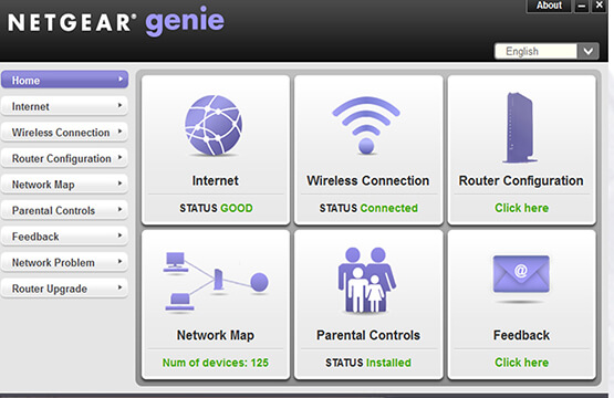 steps for netgear genie setup