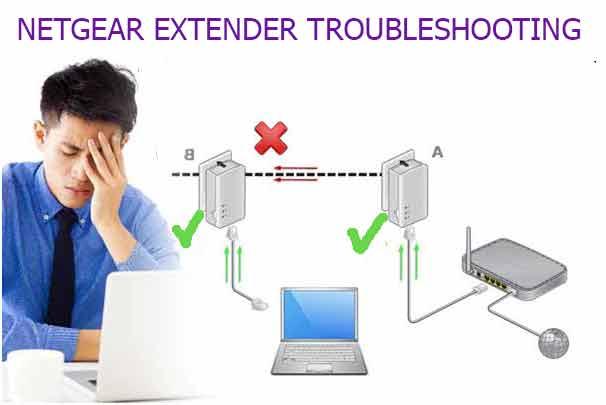 Netgear extender troubleshooting