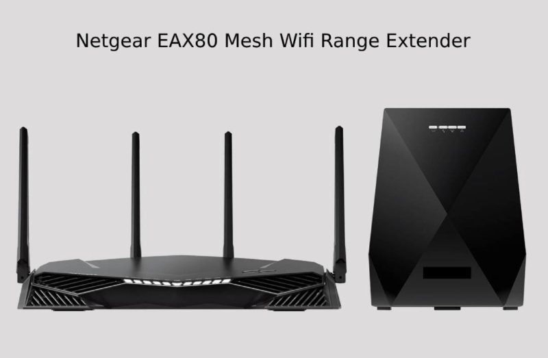 Netgear range extender EAX80